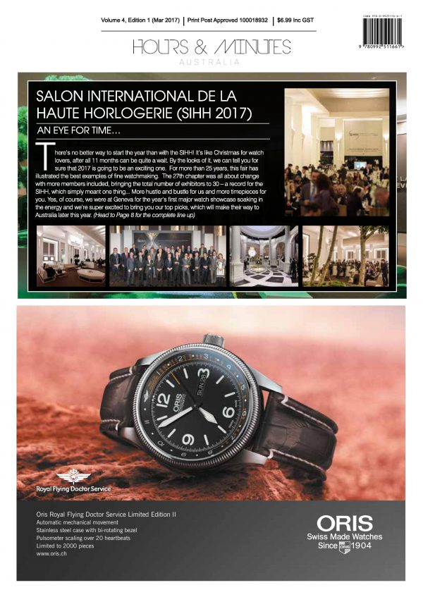 Hours and Minutes Australia April 2017 Edition