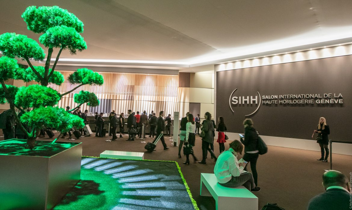 Salon international de la haute horlogerie sihh 2017 for Salon international