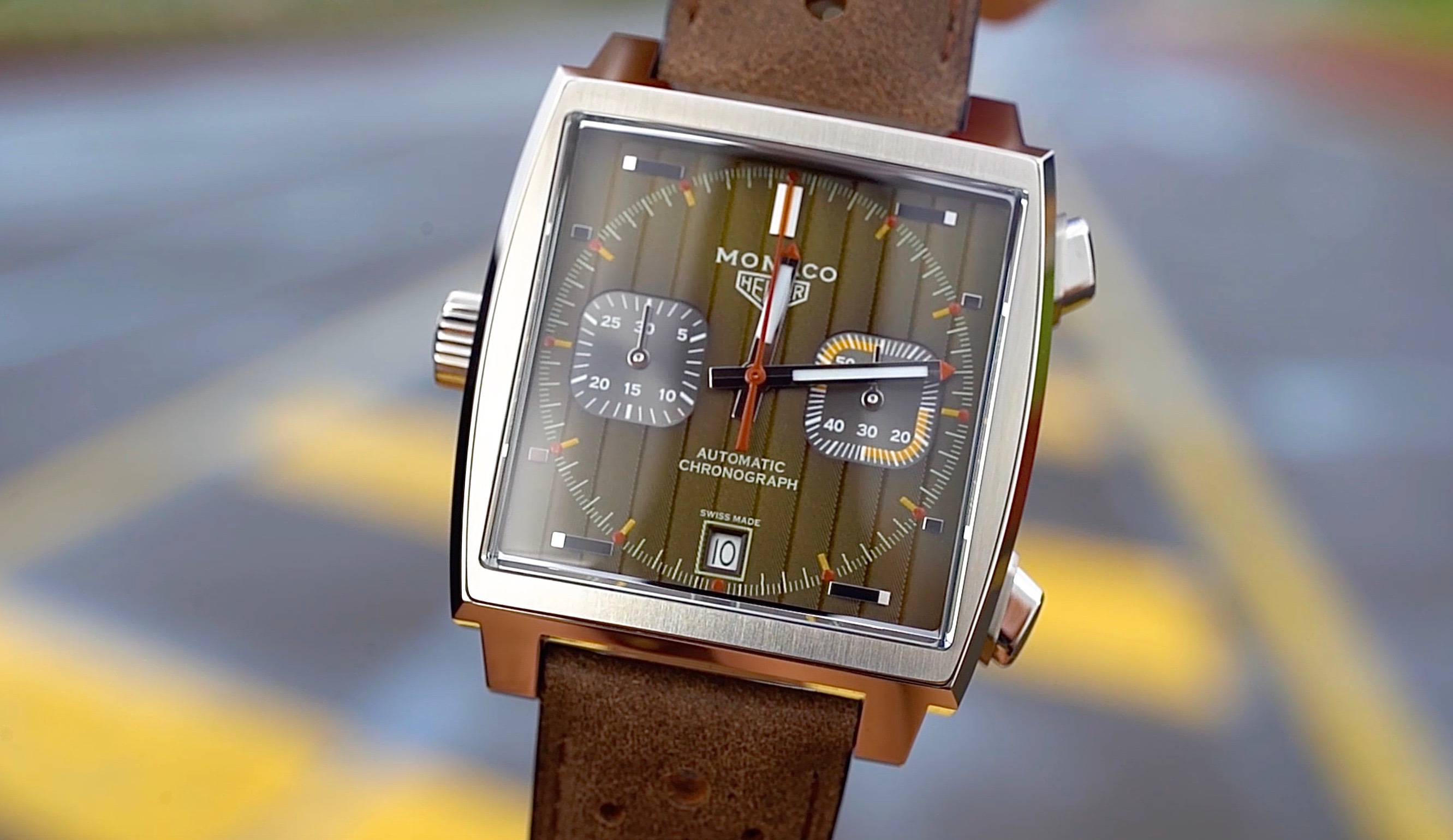 bf674c074fa TAG Heuer Monaco 1969-1979 Limited Edition Archives - Hours And ...